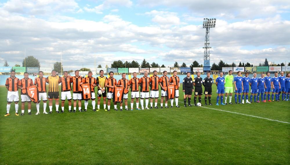 Košice spomínali na fubalový titul spred dvadsiatich rokov