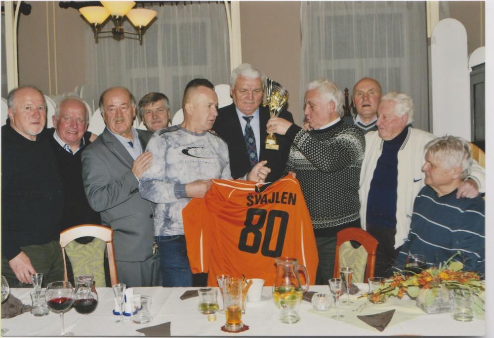 Anton Švajlen oslávil životné jubileum