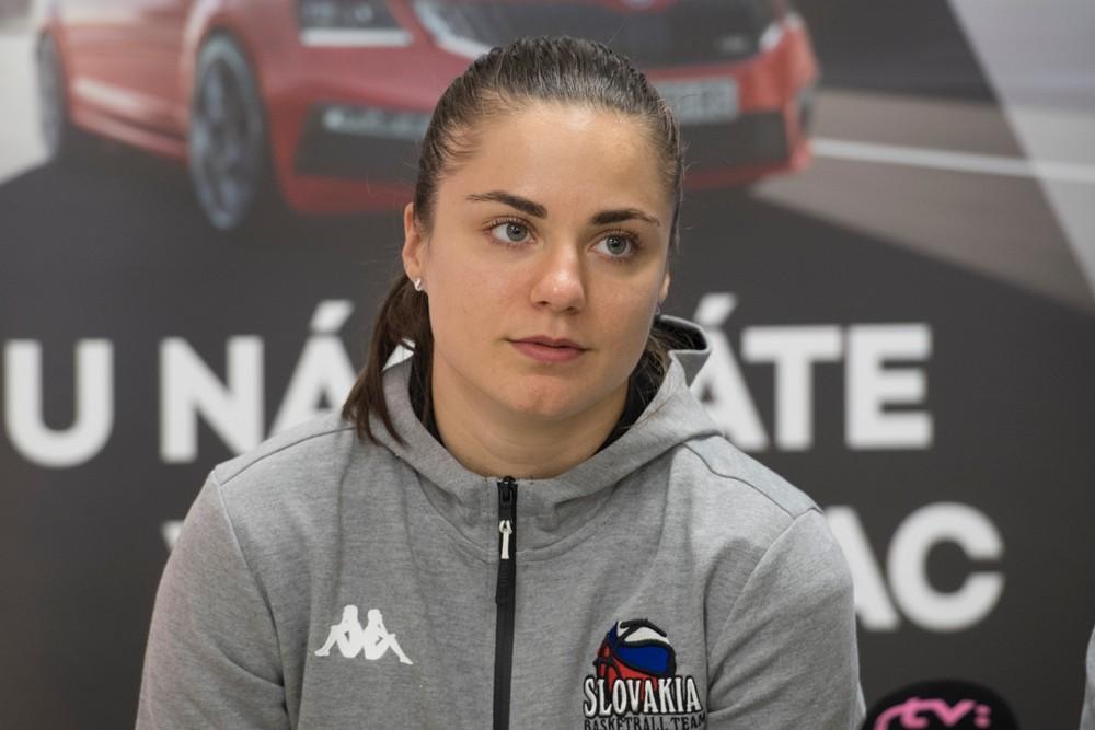 Problém pre slovenské basketbalistky, na majstrovstvá Európy idú bez kapitánky