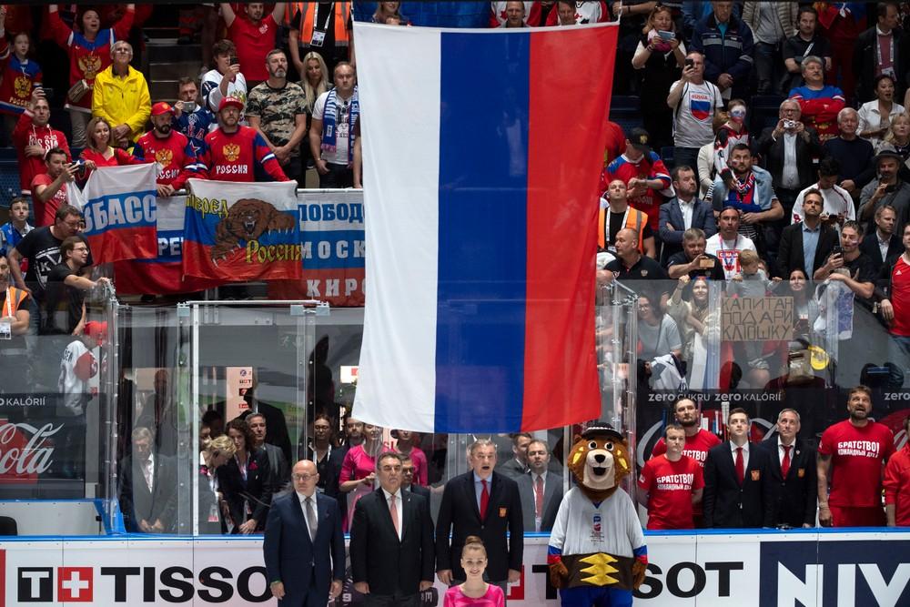Vybrali si hymnu. Čo budú hrať Rusom po víťazstve na MS v hokeji?