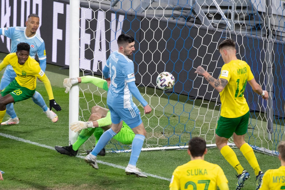 Slovan v závere zachraňoval bod, Ružomberok naplno bodoval prvýkrát od novembra