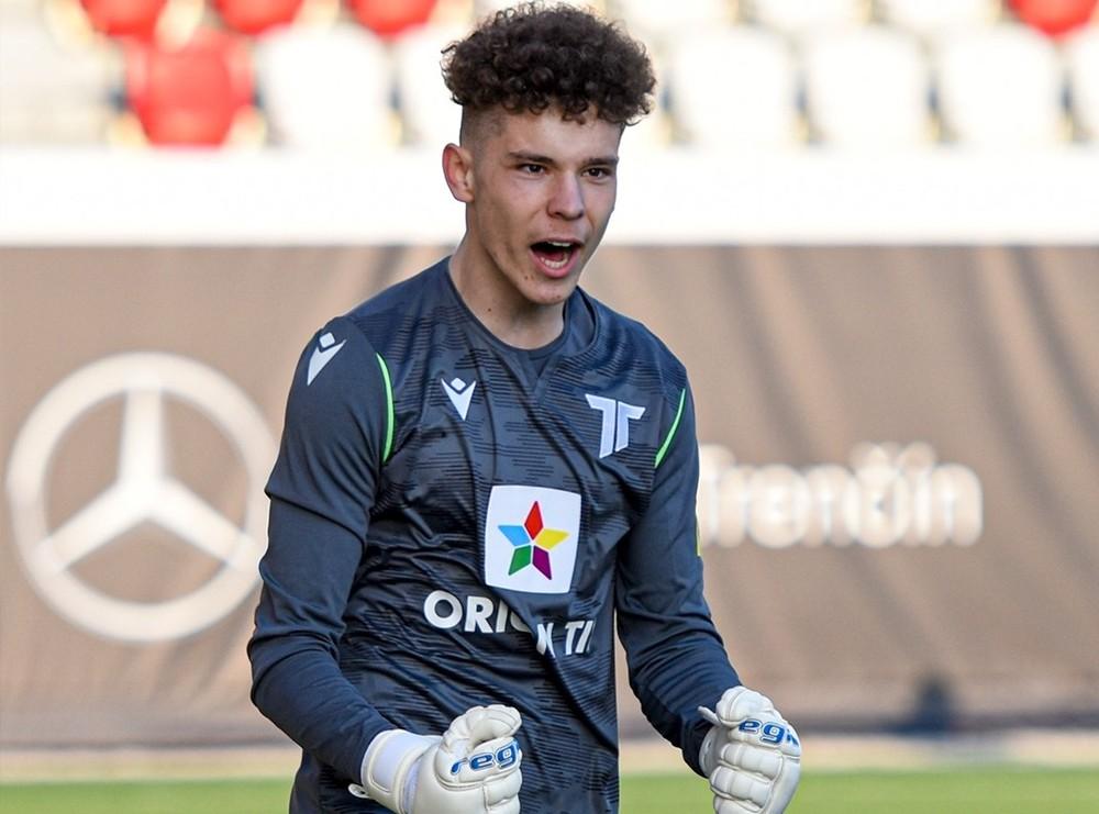 Skvelý debut. Mladík z Trenčína nepustil gól a stal sa hrdinom
