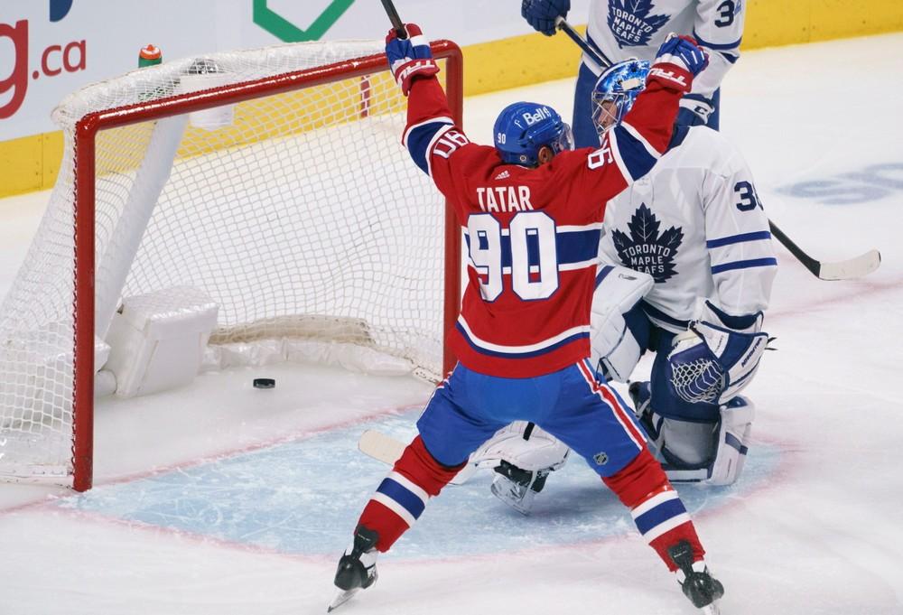 Tatar bol hviezdou zápasu. Montrealu pomohol dvoma gólmi