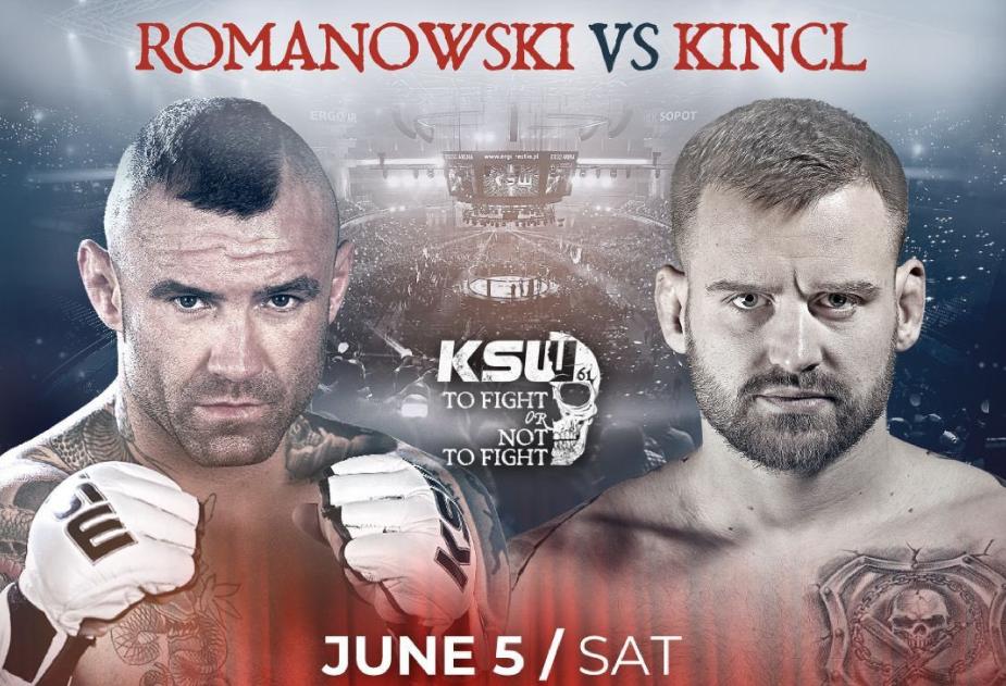 KSW 61 PROMO: Tomasz Romanowski vs. Patrik Kincl