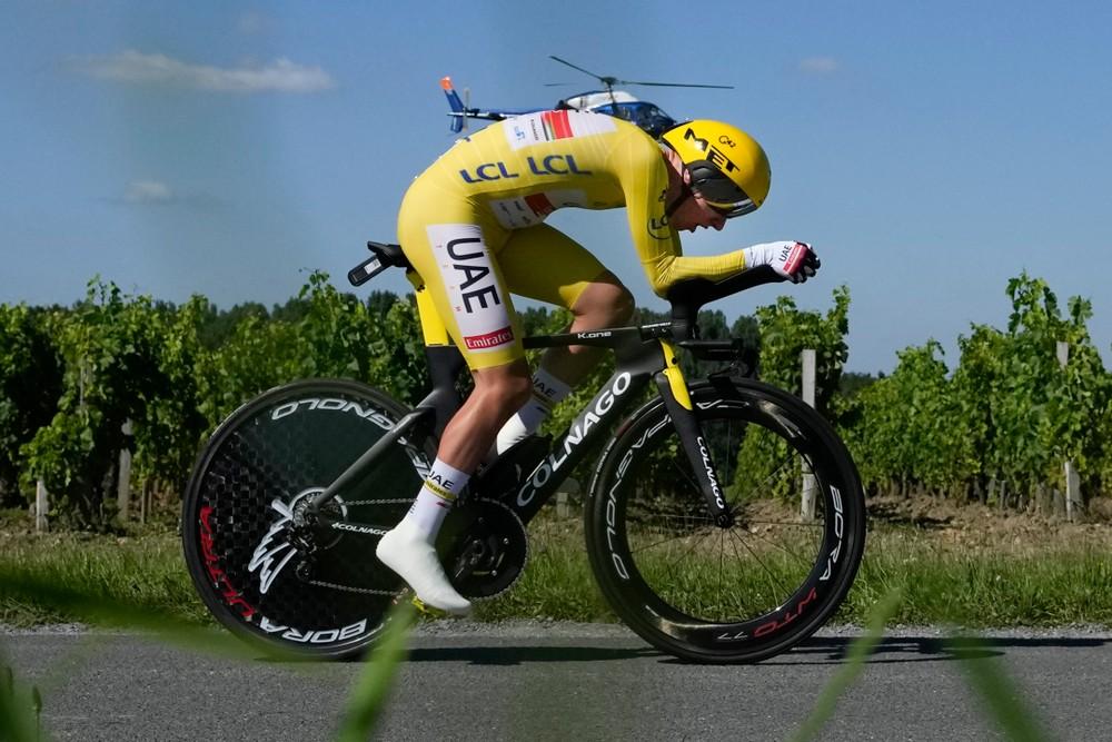 Pogačar obháji triumf na Tour de France, časovku však nevyhral