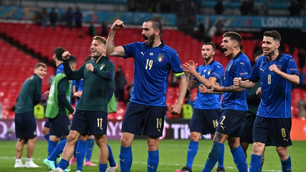 Taliani prekonali svetový rekord. Zdolajú Belgicko s dvomi otáznikmi?