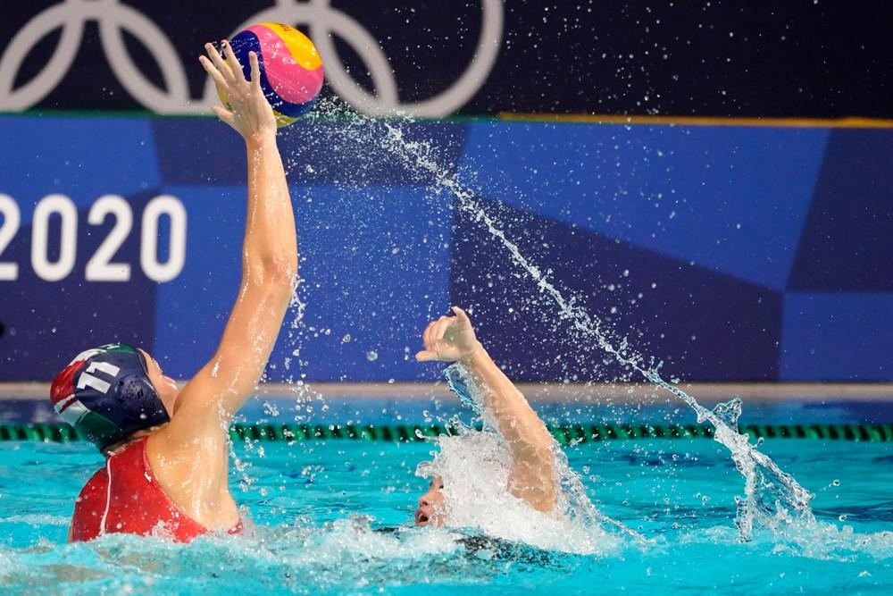 Pólistka z Piešťan získala olympijskú medailu. S maďarským tímom