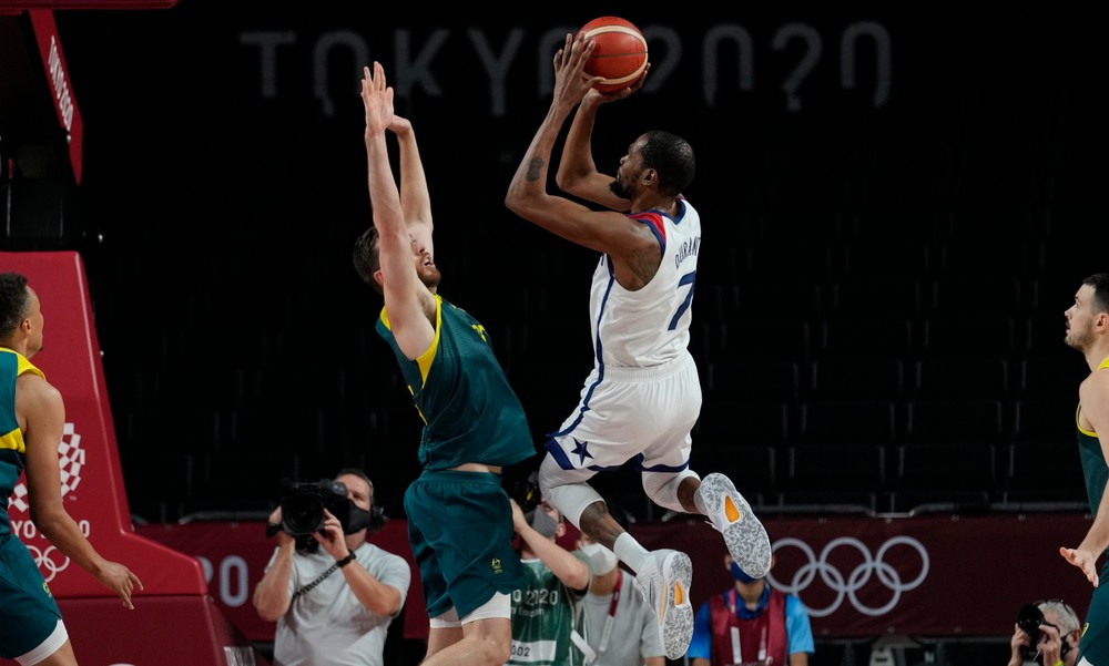 Austrálske slzy smútku, Američanov potiahol Durant do boja o trináste zlato