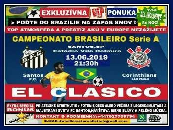 Zájazd na brazílske El Clasico