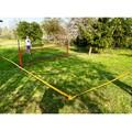 Multifunkčná športová sieť s čiarami na vymedzenie ihriska