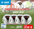 JAKO GALAXY 2.0 ZÁPASOVÁ LOPTA - sada 4 ks