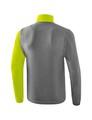 ERIMA bunda s odnímateľnými rukávmi 5-C sivá limetková