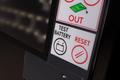 Elektronická striedacia tabuľa na futbal