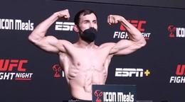 UFC Vegas 40: Váženie zápasu Ľudovíta Kleina | VIDEO
