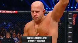 Legenda úradovala. 45-ročný Fedor Emelianenko knokautoval súpera v 1. kole