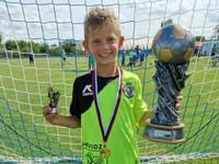 Supertalent dal deväť gólov za zápas. Jeho snom je futbalová akadémia