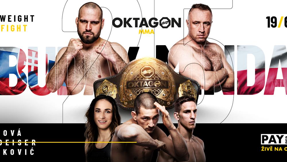 Oktagon MMA: Zverejnili kompletnú kartu pre Oktagon 25