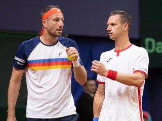 ONLINE: Filip Polášek, Igor Zelenay - Alejandro Tabilo, Tomas Barrios Vera (Davis Cup)
