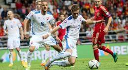 MUŽI A – Vzájomné zápasy Slovenska so Španielskom