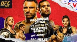 UFC 266: Turnaj roka? Pokus o vyrovnanie rekordu a návraty mnohých hviezd