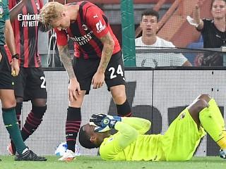 Brankár AC Miláno podstúpil operáciu zápästia, Maignan bude mimo desať týždňov