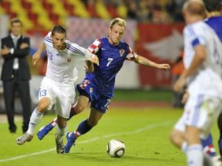 MUŽI A - Vzájomné zápasy Slovenska s Chorvátskom
