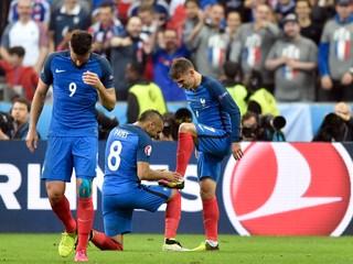 Šok sa nekoná. Francúzsko zdolalo Island 5:2 a postúpilo do semifinále
