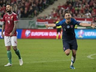 Slováci v kľúčovom zápase porazili Maďarov a z Budapešti si odnášajú tri body