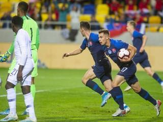 Mladí slovenskí futbalisti vysoko prehrali, postup na ME sa im vzdialil