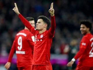 Coutinho strelil hetrik, Hertha pod uspela pod novým trénerom