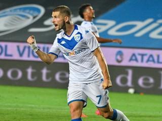 Špalek skóroval druhýkrát v sezóne, jeho Brescia však dostala šesť gólov