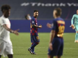 Hanba, blamáž, kolaps, katastrofa. Messiho Barcelona nikdy nezažila takú hanbu