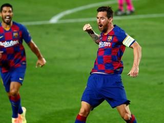 Messi znova nebol na tréningu. Vraj stále nebol na teste na koronavírus