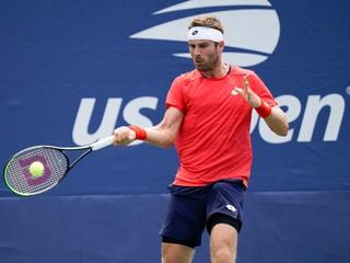 Gombos na US Open čelil bývalej svetovej trojke, proti favoritovi získal jeden set