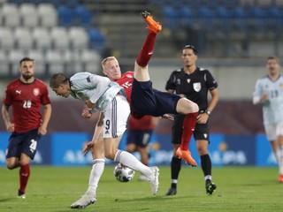 Česko v improvizovanej zostave neuspelo, ligový výber však Škótov potrápil