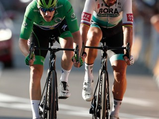 Sagan v Paríži stále cítil krivdu. Čo rozhodlo o tom, že nezískal zelený dres?
