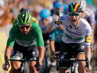 Sagana počas Tour napomenuli aj v piatej etape, ohrozil Bennetta