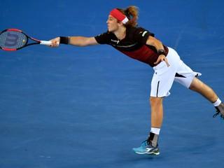 Lacko na Australian Open skončil, proti favoritovi nezískal ani set