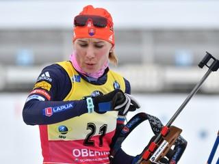 Kuzminová vyhrala šprint v Oberhofe, spravila len jednu chybu