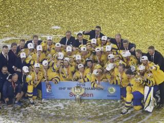 Švédsko obhájilo titul majstra sveta, Švajčiarsko vo finále zdolalo až po nájazdoch