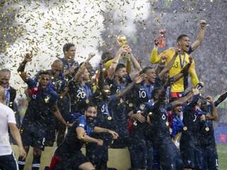 Francúzsko je majstrom sveta vo futbale, v šesťgólovom finále zdolalo Chorvátsko