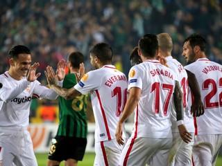 Sevilla vysoko zdolala Rayo Vallecano a posunula sa na štvrté miesto v tabuľke
