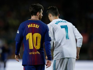 Ronaldo veľmi chýba Realu aj La Lige. Posúval ma vpred, vraví Messi