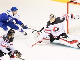 Pozrite si všetky góly, ktoré padli v zápase Slovensko - Kanada