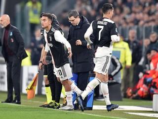 Ronaldo znášal striedanie ťažko. Čudné by bolo, keby ho to nenahnevalo, tvrdil Sarri