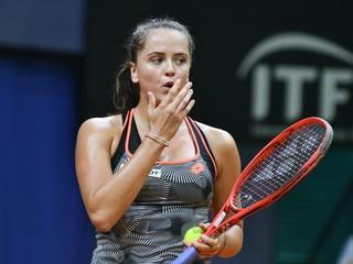 Kužmová nezvládla dobre rozohraný zápas, na turnaji WTA v Lyone končí vo štvrťfinále