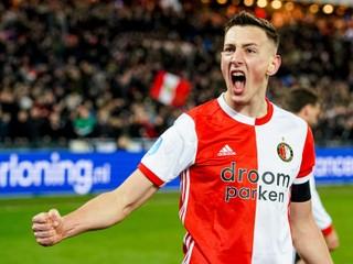 Nečakal to. Boženík po prvom góle za Feyenoord absolvoval milý zvyk