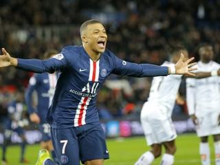 Paríž St. Germain poľahky zdolal oslabeného súpera, Mbappé strelil dva góly