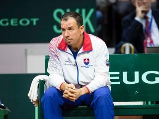 Hrbatý už nie je kapitán v Davis Cupe, zväz oznámil meno jeho nástupcu