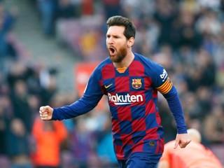 Za jeden klub dal 643 gólov. Messi vyrovnal senzačný rekord Pelého